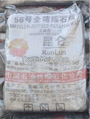 Competitive High Quality Fully Refined Paraffin Wax #56-58