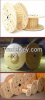 Wooden Cable Drums Reels Bobbins