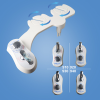 dual nozzle, nozzles self-cleanning, woman wash, butt wash, hot and cold water toilet bidet
