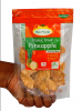Yao's organic dried pineapple, 100g pouches.