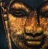 Large Buddha Painting ...