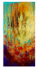 Large Gold Abstract Pa...