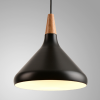 modern wooden metal de...