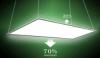 Double-side lighting panel light