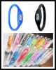 Silicone ion sport wrist watches with tube pack