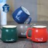 Stoneware mug, glaze b...