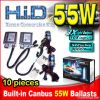 Built-in Canbus No Error Normal Ballasts HID Xenon Conversion Kits 55W