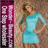 Blue Lace Fashion Dress