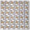 Stainless Steel Mosaic Tile- Wall Decoration