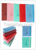 wholesale custom mini exquisite colorful pu leather business school notebook