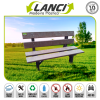 Lanci Recycled Park Bench