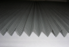 Fiberglass pleated plisse window/door insect screen