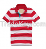 personalized custom polo with stripe made clothing manufacturers china