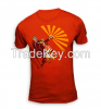 high quality no minimum china all over print dry fit cheap customize t shirt design