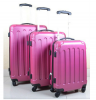 Stock 3pcs ABS luggage with Universal wheels