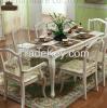 European white table