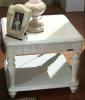 European manchurian ash wood tea table