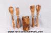 Olive wood utensils &a...