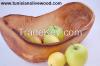 Olive Wood Rustic Frui...