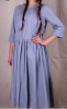 women's 70% cotton 30% linen dress