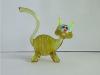 Hand-Blown High quality Art Glass Cat