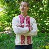 Ukrainian National Embroidered Men Shirt, Folk Style, Vyshyvanka, 100% Linen