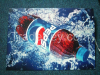 Electroluminescent posters, stickers