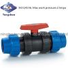 Coupler ball valve-   ...