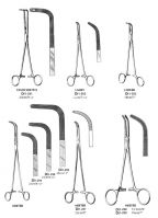 Scissors tweezers forceps needle holders