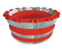 Casting Cone Crushers Crusher Parts, Mantles For Cone Crushers Df018