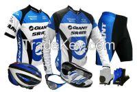 Complete line of Cycling wear & gear