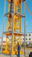 high quality inner-climbing tower crane for construction industry