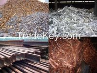 Copper Scrap,HMS Scrap,Used Rail,Metal Scrap,Moto Scrap,Vessel Scrap,Tyre Wire Scrap,Aluminium Scrap