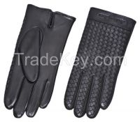 New Model Leather Gloves Handmade Embroidery Gloves Embroidery White Men Leather Embroidery Dressing Gloves