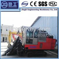 New condition rubber combine sugarcane harvester 4G-1700 for sale