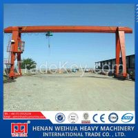 Weihua Brand MH Model Light Duty Single Girder Mini Gantry Crane