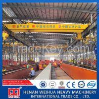 Double girder Electric Hoist Overhead Crane for Sale
