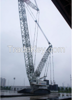 50ton HOLDING SCC500E Telescopic boom crawler crane
