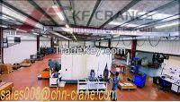 Semi-gantry crane with hoist for sale,Low noise Semi-gantry crane indoor or outdoor,workshop or yard