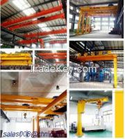 Industry Crane Electric Drive Mobile Jib Crane,Rail Mounted Single Jib Crane European Gantry Crane,