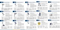 SolarStreetLight, SolarGardenLightSeries, Solarmono/polycrystallinesolarpanels, Solar&Aci