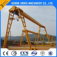 Electric Single Girder Gantry Crane Capacity 5--500t