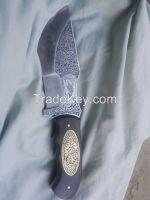 engraved trakker knife