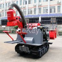 Small Combined Rice Harvester 13HP Diesel Engine 4LZ-0.8