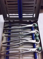 Physics Forceps - Standard Series - 4 Piece Set with Cassette