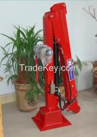trailer mounted crane