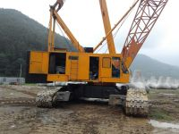 sell used crawler crane 150t  japan 150 ton crawler crane 100t 100 ton