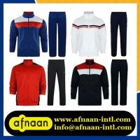 Sportswear-Tracksuits, Training Wear, Jogging Wear, Rugby Wear, Football Wear, Martial Arts Wear, Tennis Wear, Baseball Wear, Basketball Wear, Swim Wear, Fitness Wear.