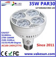 VAKESUN LIGHT 35W LED PAR30 AC100-240V E26 E27