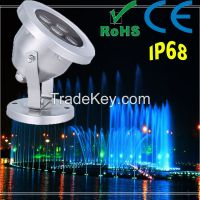 Promotion Price Stainless Steel IP68 8W LED Underwater Light
